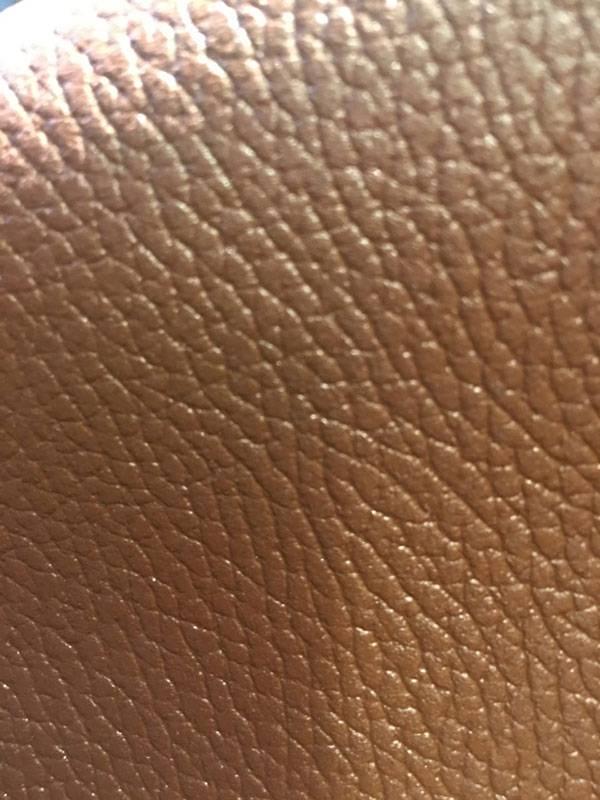 چرم اشبالت چاپی عسلی